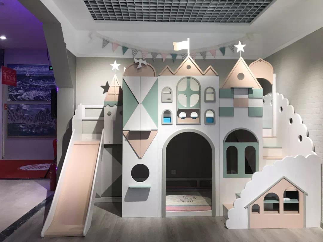 家里有二孩的儿童房,就应该这个样子华日家具二胎政策