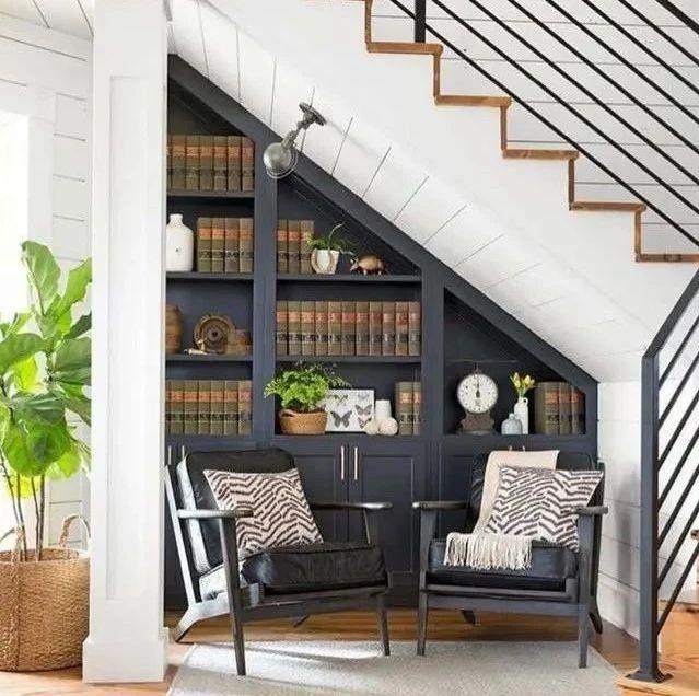 楼梯+柜子的完美设计,有楼梯的建议看看!