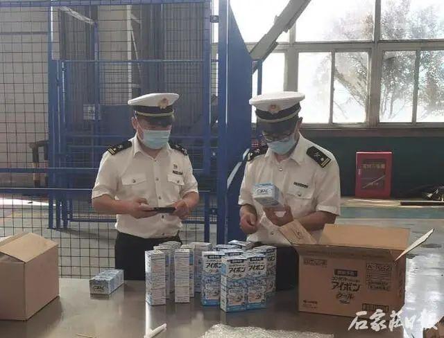 石家庄海关首次监督销毁跨境电商货物