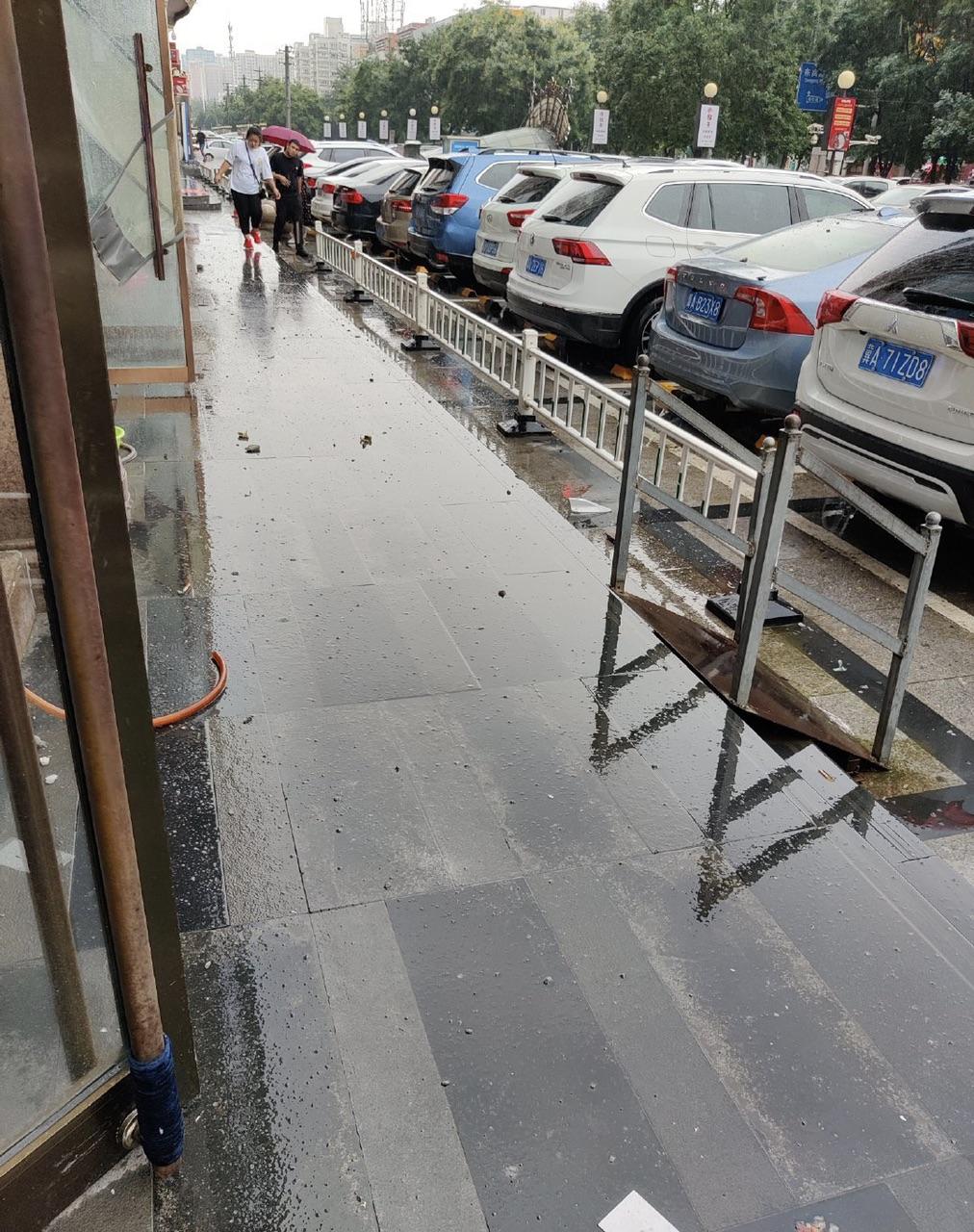 雨天,请注意高楼坠物