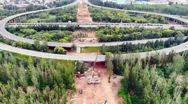 中华大街北延工程加紧推进中 预计11月底建成通车