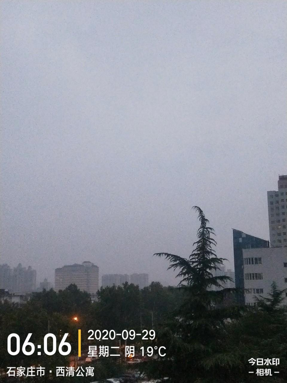 一场秋雨一场寒。请保重!