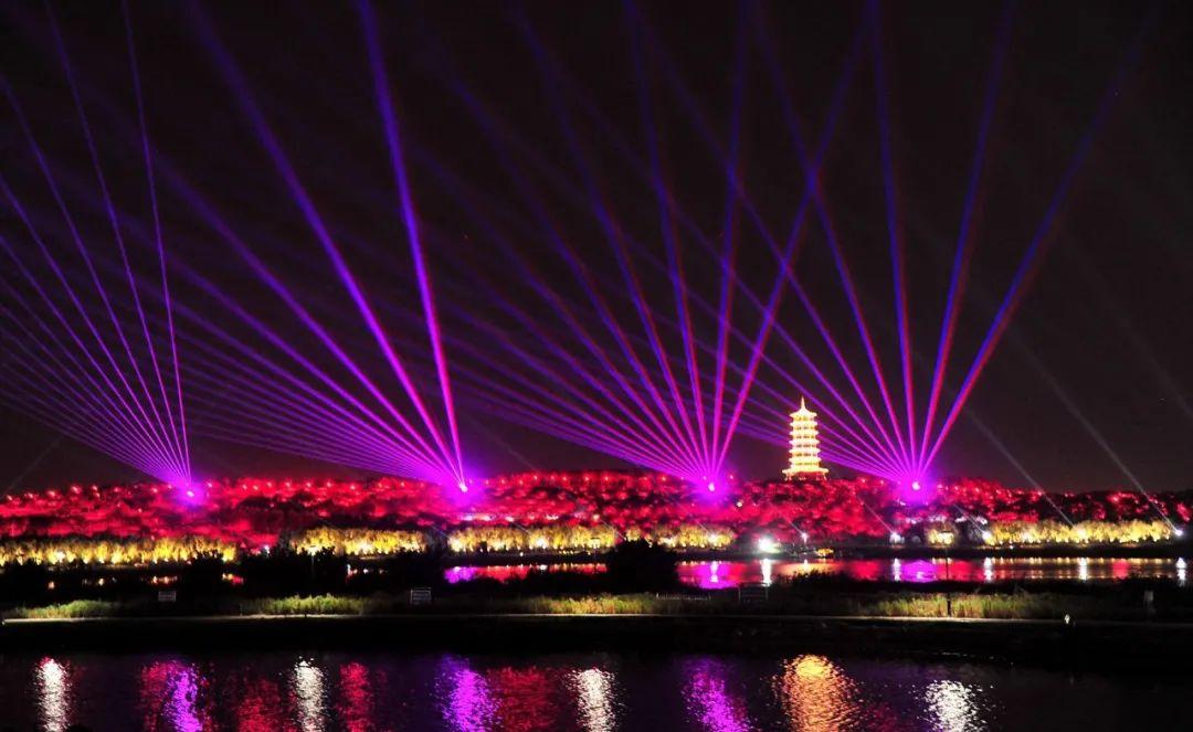 中秋国庆光影水秀来了!超绚烂的夜滹沱,你期待吗?