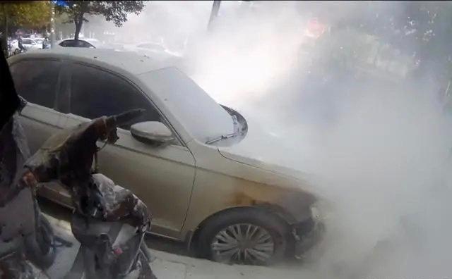 冬天到了小心电动车自燃