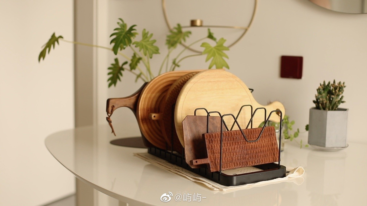 秋日木质餐具养护需要一点橄榄油