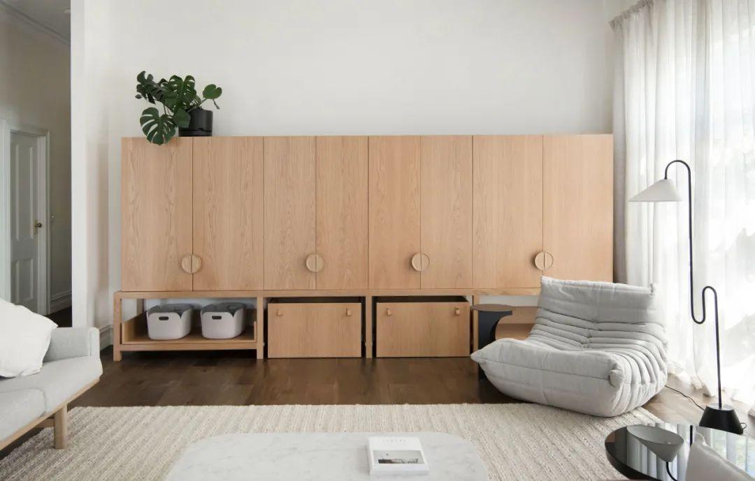 家里这样设计,看似简单却很有格调!