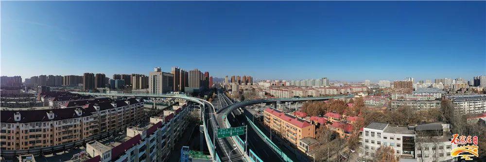 石家庄槐安路与西二环立交桥一期工程将于明日开通试运行