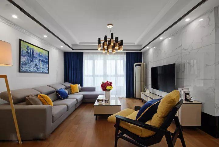 现代简约三居室,简约、大方、精致且轻松