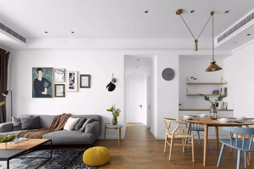 小户型的墙面可以刷成这些颜色,好看又简洁大方