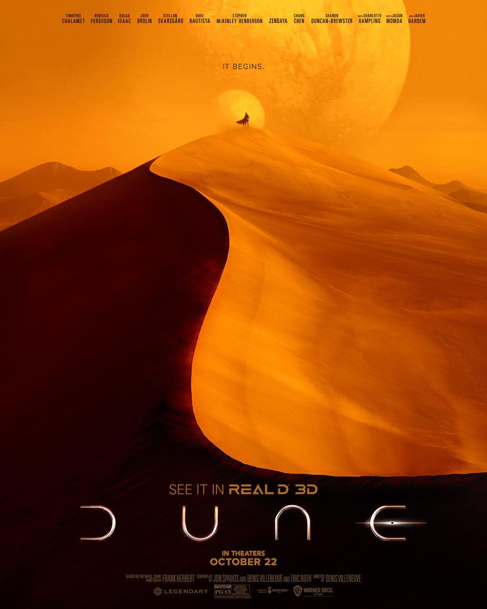 《沙丘》曝终极中字预告 上映倒计时两周