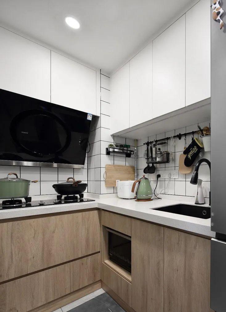 58平米两居室小户型,颜值,又实用,家居氛围太赞了