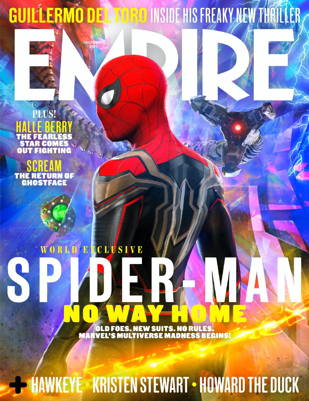 《蜘蛛侠:英雄无归》登上《帝国》杂志封面